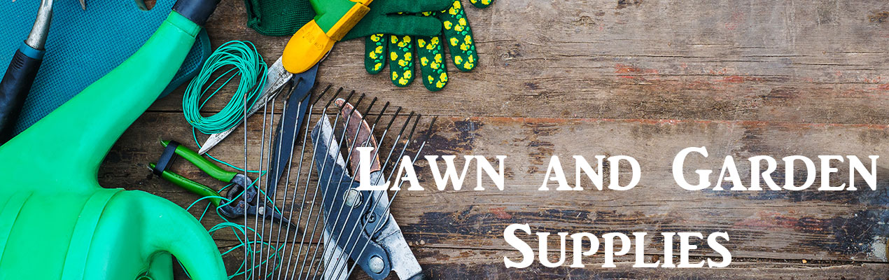 What's in store in lawn and garden supplies